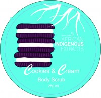AIE 1587 SPA Cookies & Cream Scrub 250 ml Top
