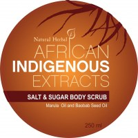 Indigenous Baobab  Marula Scrub 250ml Top