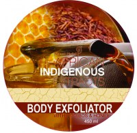 Rooibos & Honey body exfoliator 450 ml top